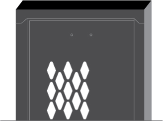 diamond-perforations