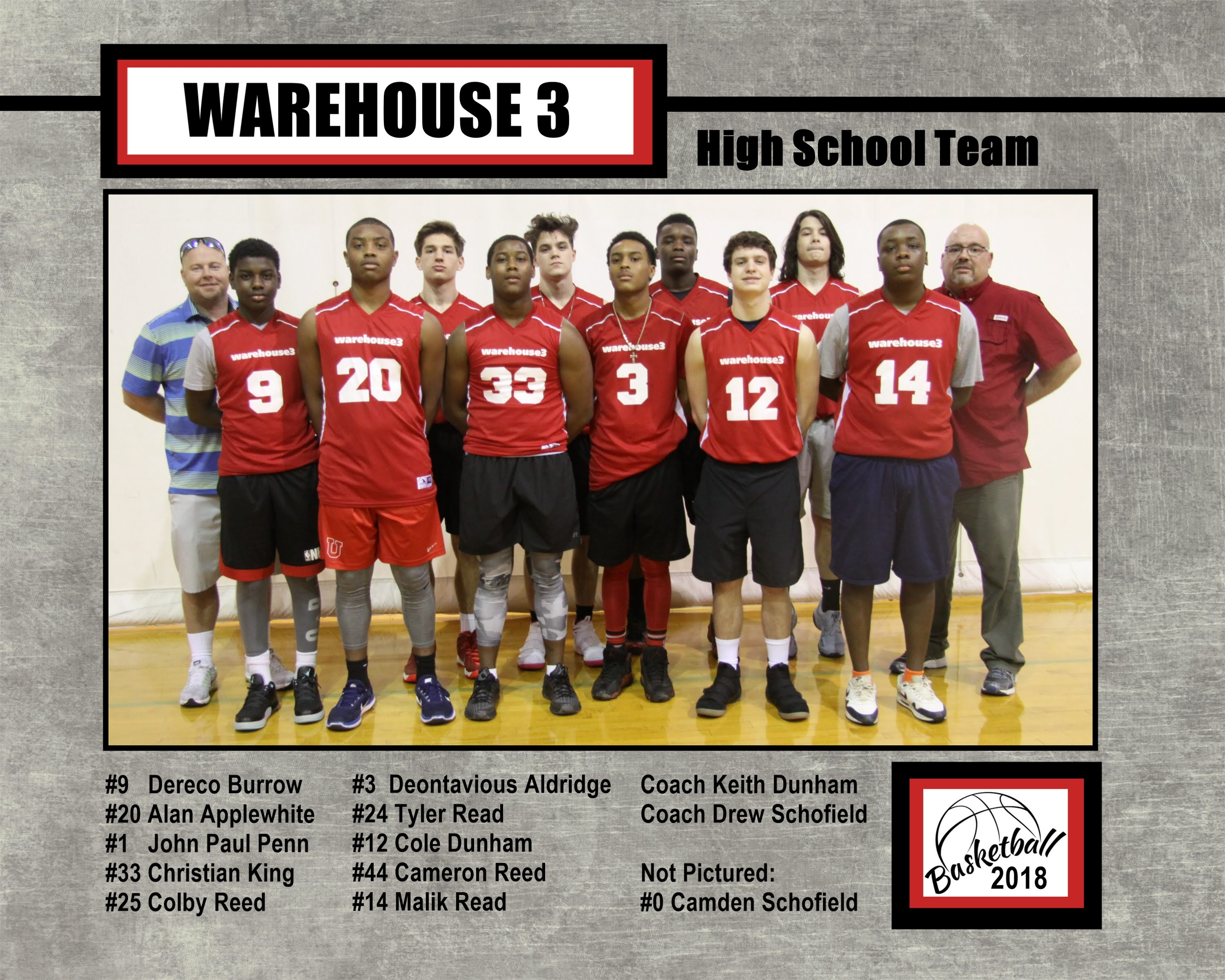 Warehouse 3 HS Team