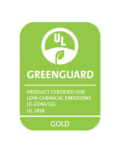 GREENGUARD_UL2818_gold_CMYK_Green