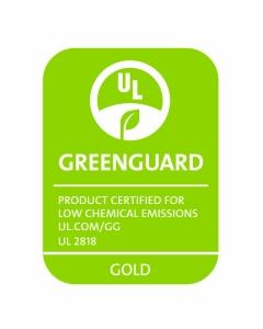 GREENGUARD_UL2818_gold_RGB_Green